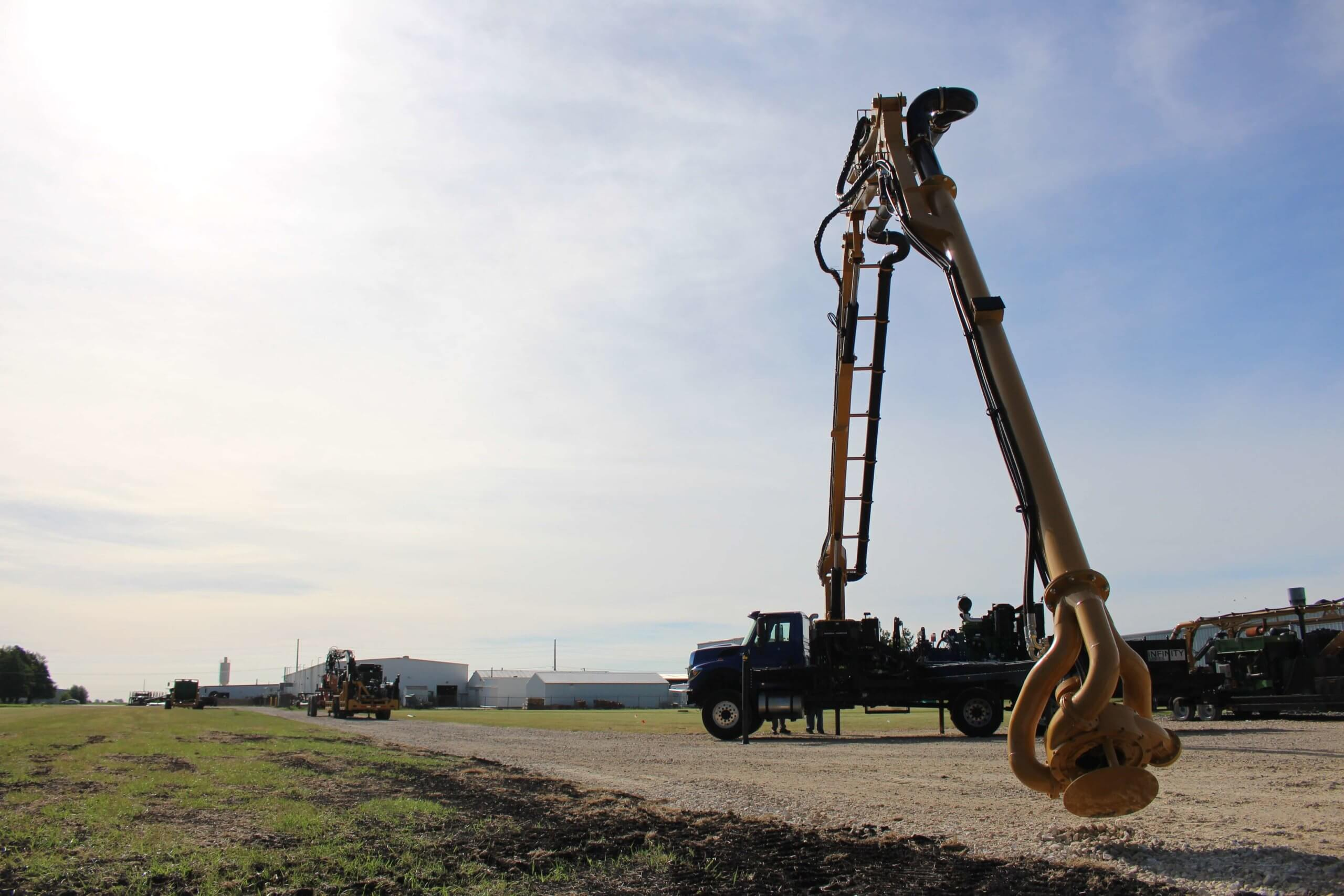 Infinity Series Boom Truck and Pump Unit