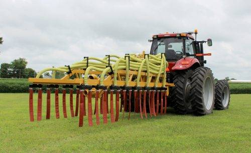Dribble Bar Toolbar for Manure Application