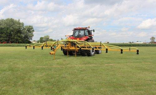 Top Kick Hay Bar Toolbar in Field