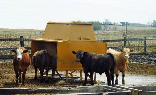 Bazooka Farmstar Cattle Feeder Equipment