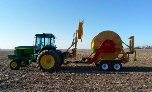 1000 Hydraulic Hose Reel for Injecting Manure