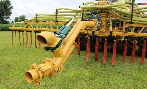 Bazooka Farmstar Dribble Bar Manure Injection Toolbar