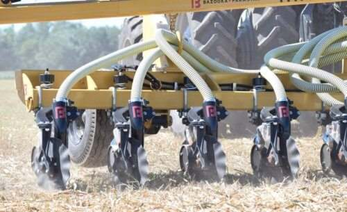 Phantom Injector Manure Application Unit with Anti-Clog Design