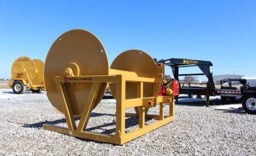 Mounted 3 Point Hose Reel