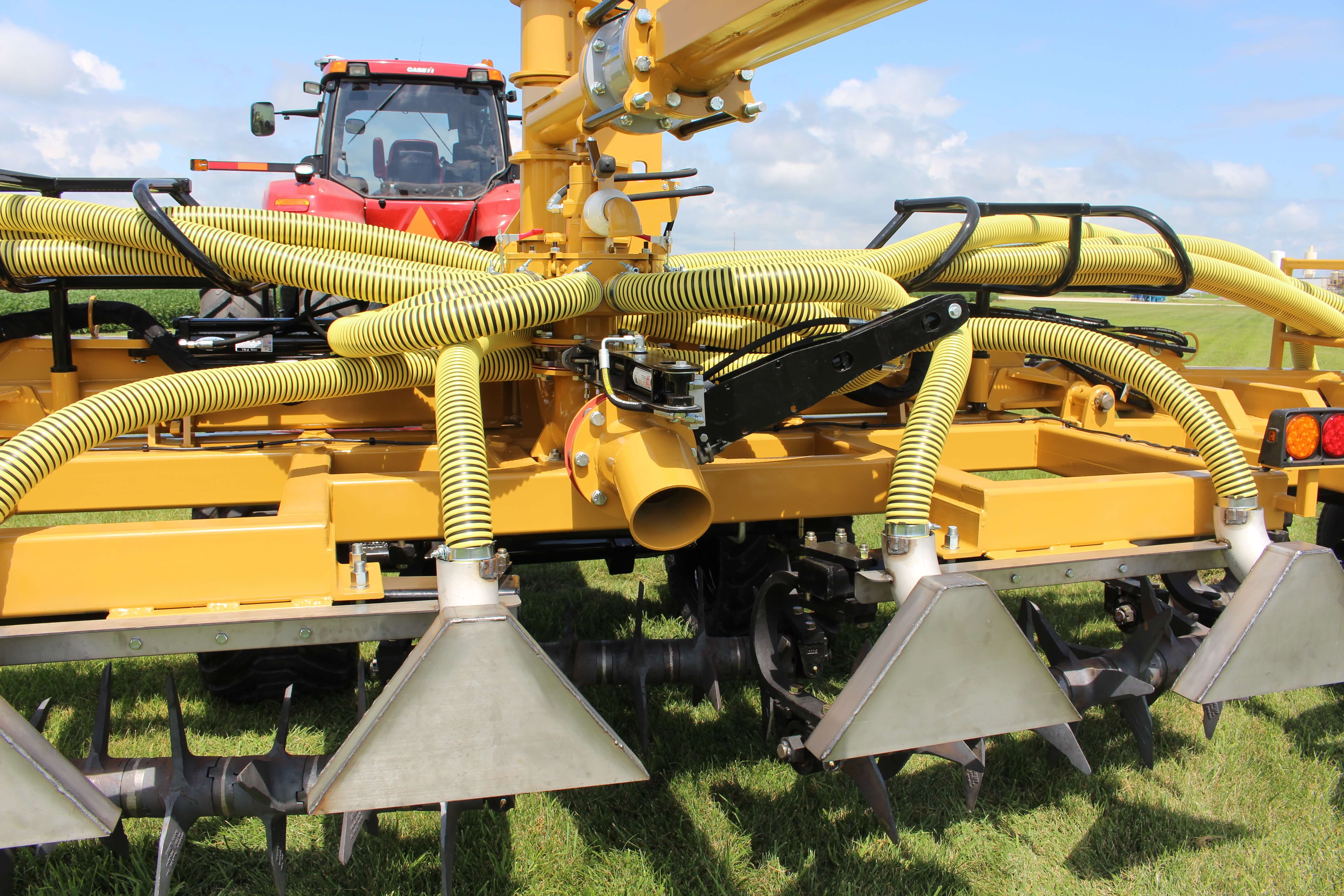 Titan GenTill Manure Application Toolbar
