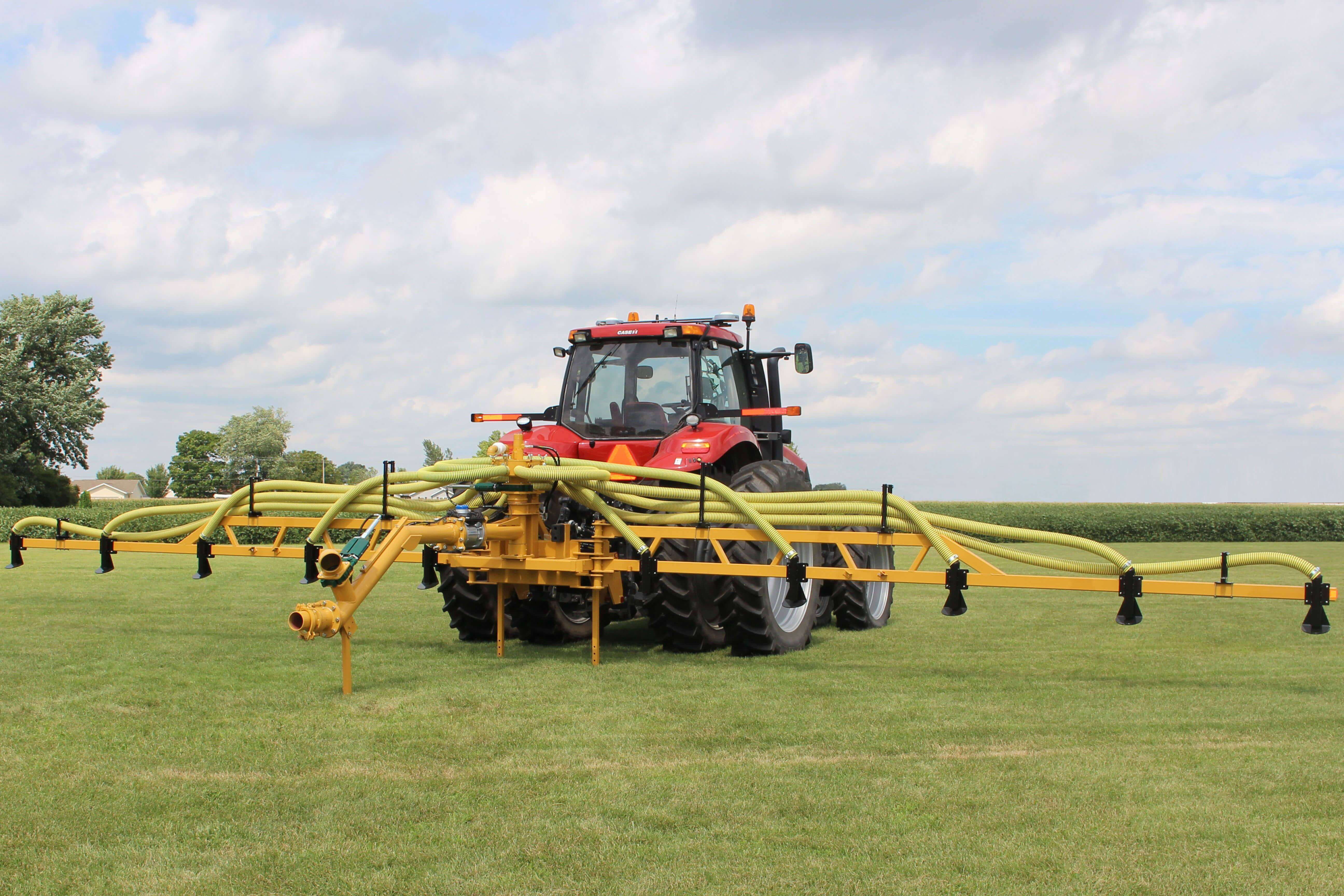 Top Kick Hay Bar Manure Injection Toolbar