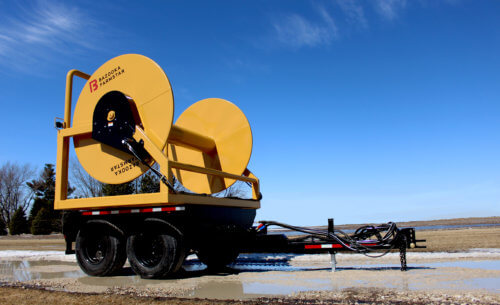 Crossfire Hose Reel Series for Manure Application
