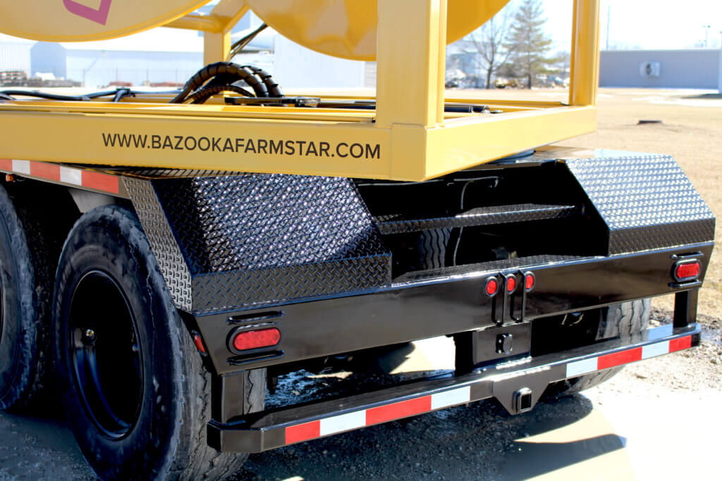 Crossfire Hose Reel Series with Rear Accessible Steps