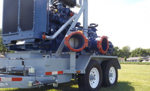 Custom Pump Trailer for Oil & Gas Industry