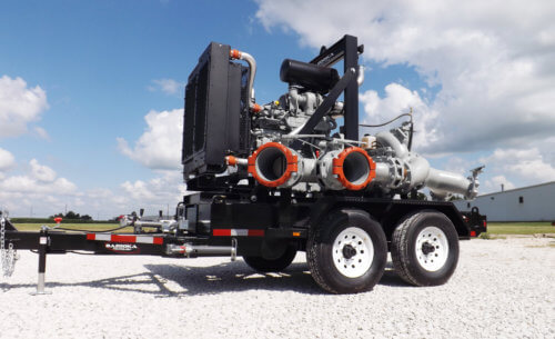 Bazooka Technology Pump Trailer