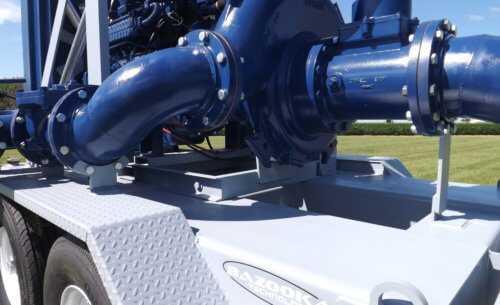 Pump Trailer Closeup