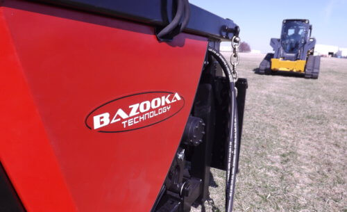 Bazooka Technology Skid Steer Base Unit
