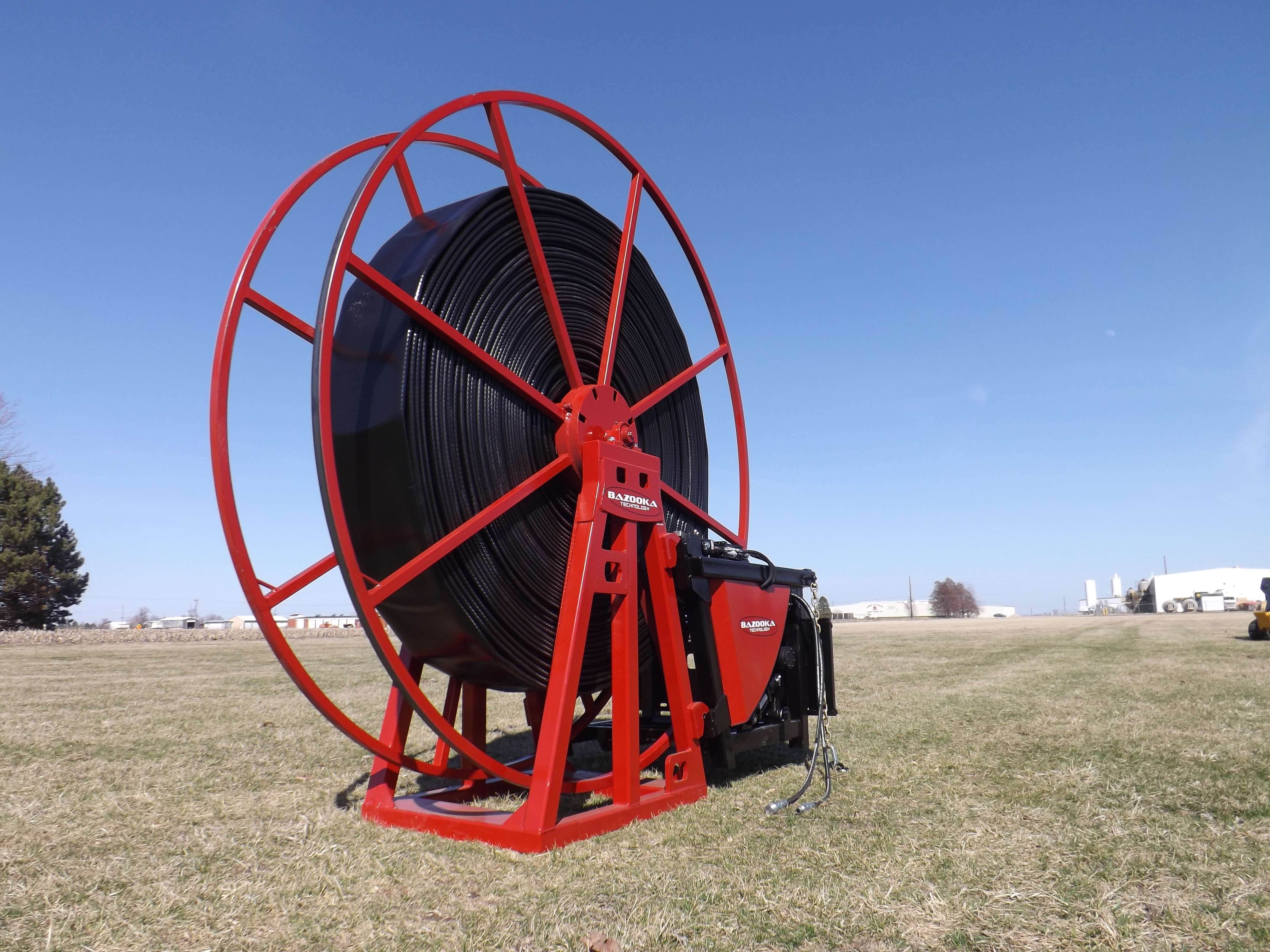 Oil and Gas Hose Reel