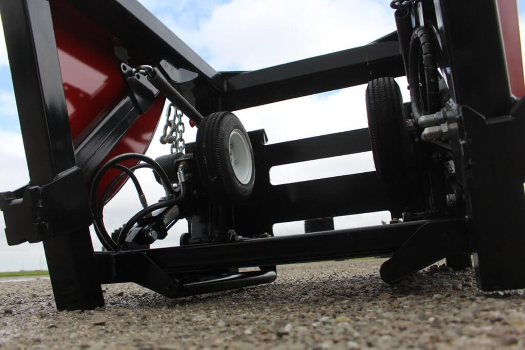 Skid Steer Base Unit Layflat Hose Deployer