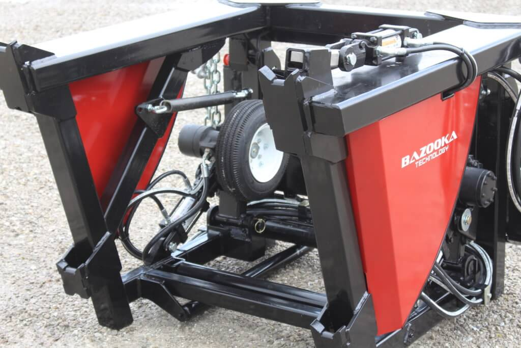 Skid Steer Base Unit Sealed Bearing Hose Rollers