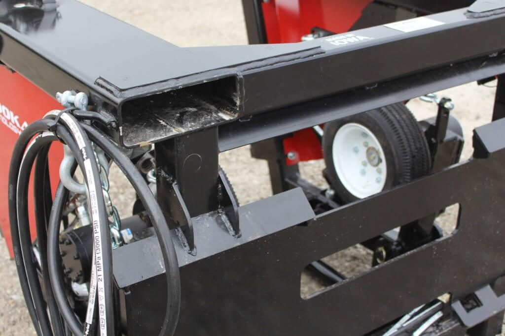 Hose Deployer Skid Steer Base